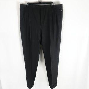 Brooks Brothers Mens Dress Pants Gray Stretch 44